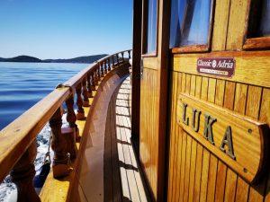Bootstour mit der Luka