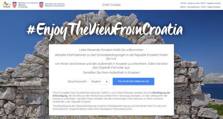 EnterCroatia Website